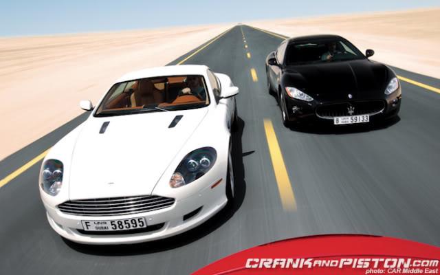 Jaguar Xkr Vs Aston Martin Db9 Vs Maserati Granturismo Crankandpiston Com