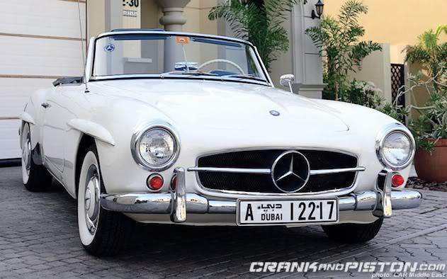 Mercedes benz 190sl old school cool for Mercedes benz classic car parts