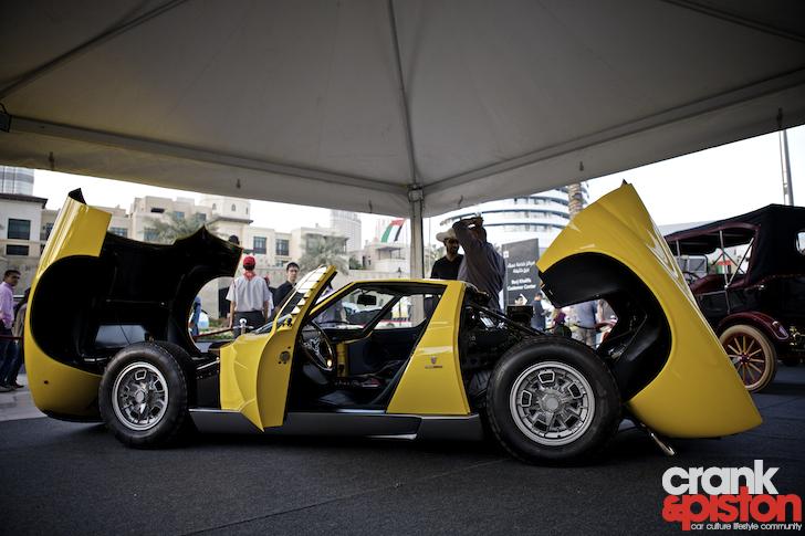 Emirates Classic Car Festival Dubai UAE Emaar  crankandpistoncom