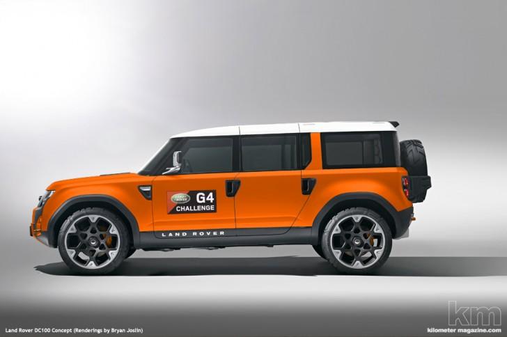 Ideas Land Rover DC100 Concept  crankandpistoncom