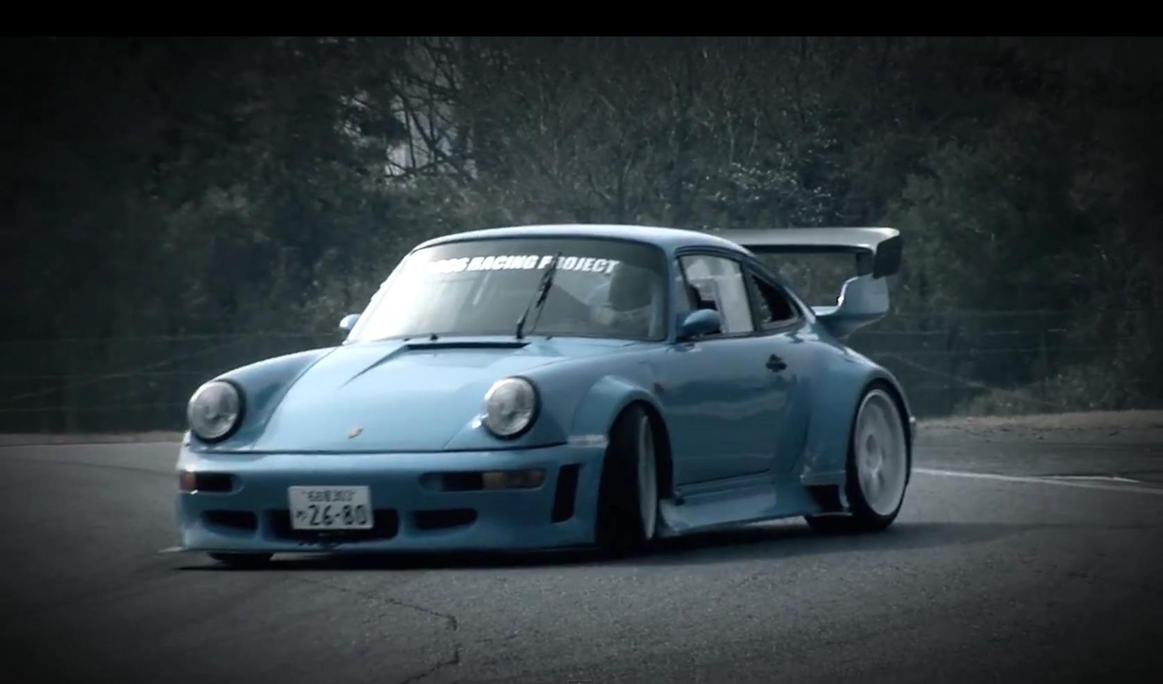 Ka Tun Porsche 964 Getting Its Drift On Crankandpiston Com