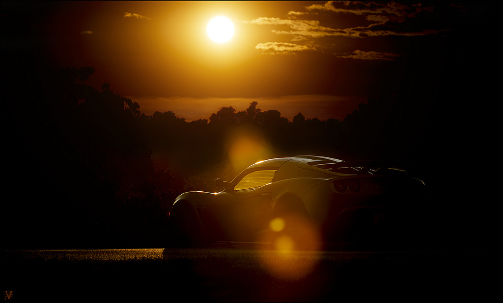 Lotus Exige Sunset