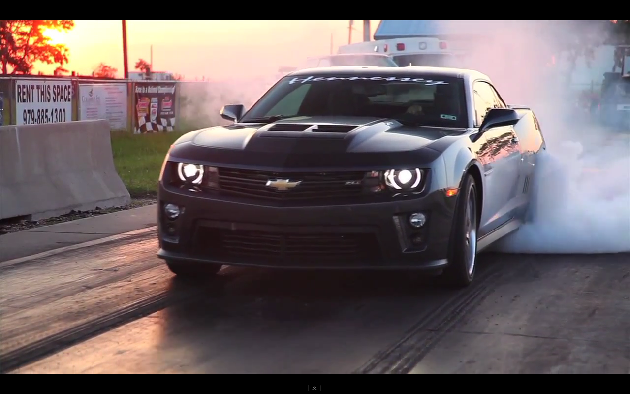 A Shot Of Hennessey Camaro Zl1 Tuned Crankandpiston Com