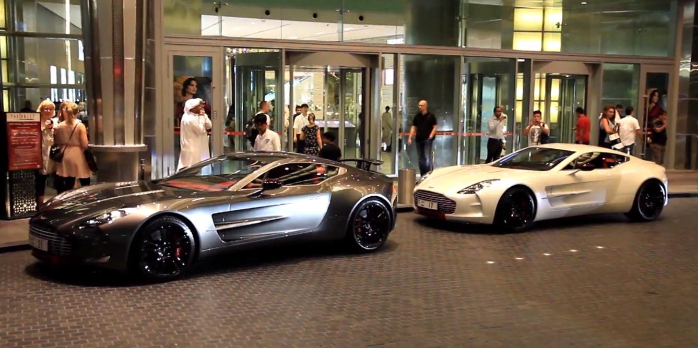 Aston Martin One 77 2 X Q Series Dubai Mall