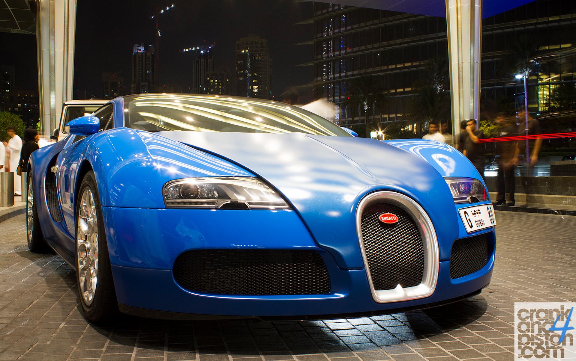 bugatti veyron grand sport dubai uae why so blue. Black Bedroom Furniture Sets. Home Design Ideas