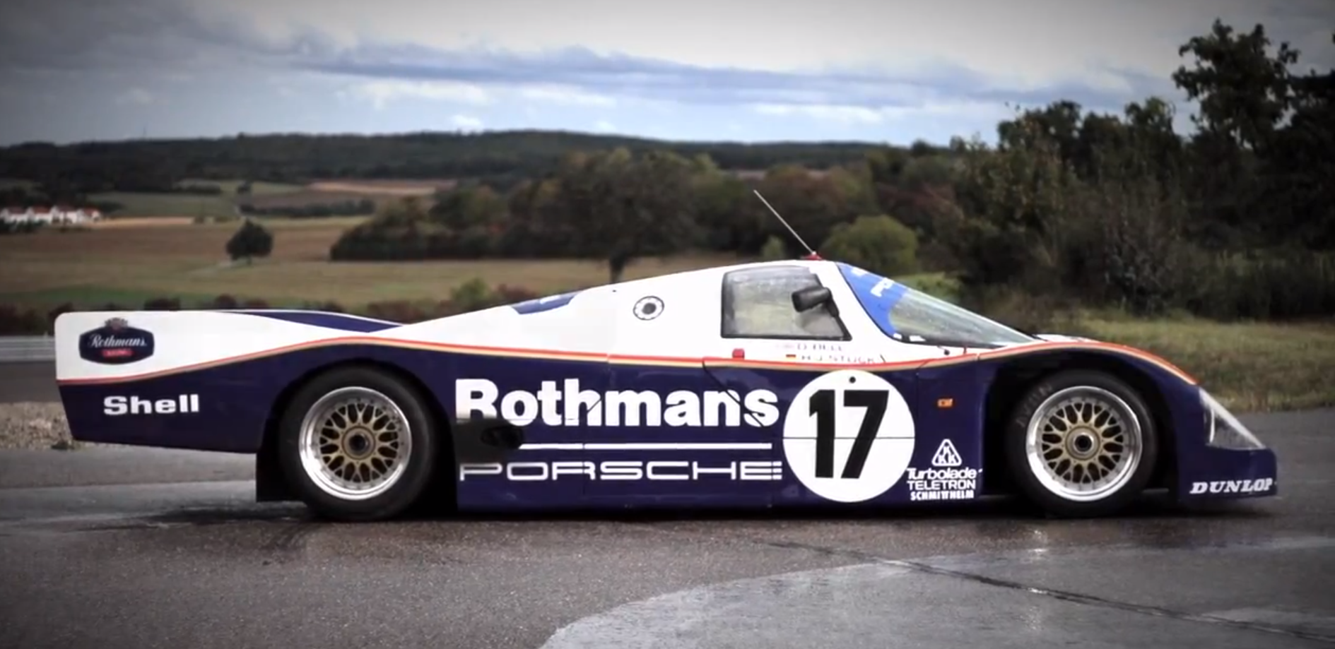 Flat Out In A Le Mans Winning Porsche 962 Chris Harris On Cars