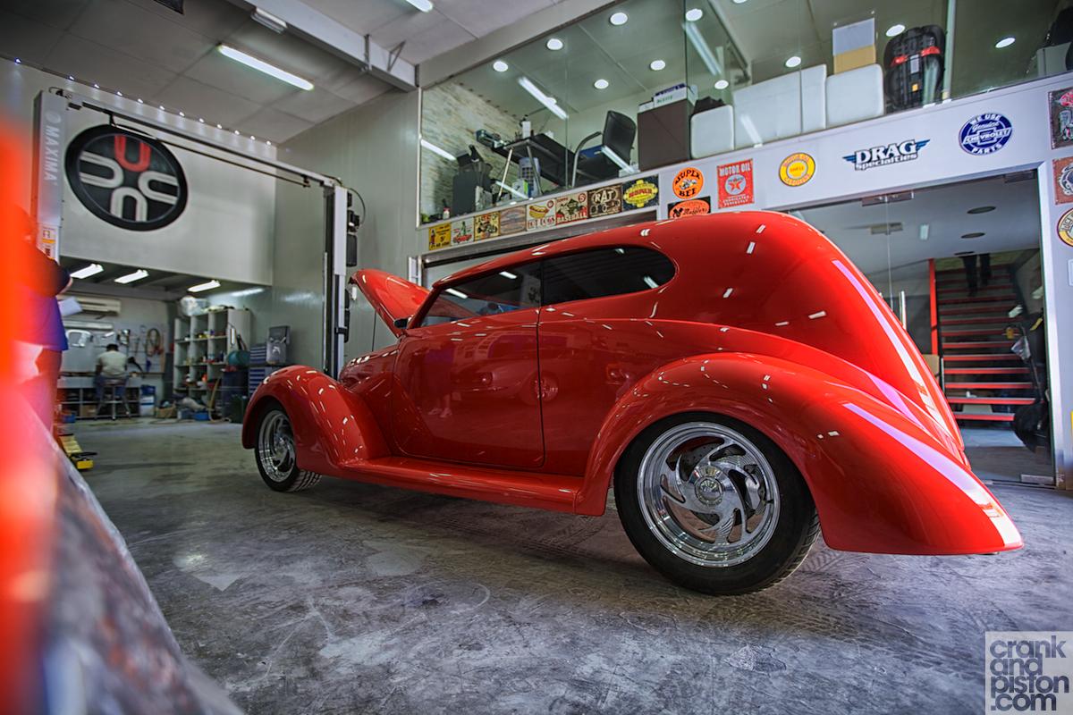 1939 Ford Tudor Street Rod Dubai UAE  crankandpistoncom