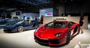 2013 Dubai Motor Show. Day One