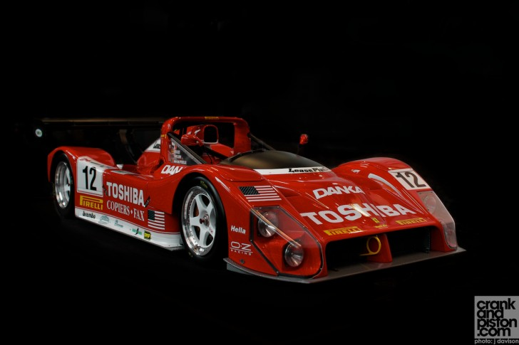 Ferrari 333 Sp Dubai Uae Michel Stassart Making An