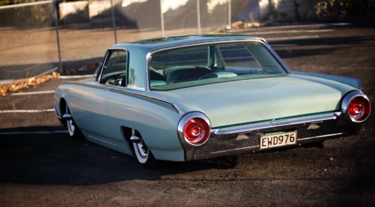 1962 Ford Thunderbird Mild Kustom