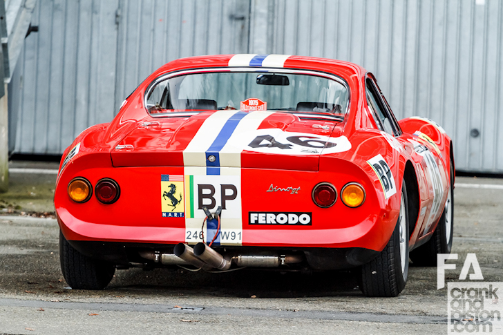 Ferrari dino race car