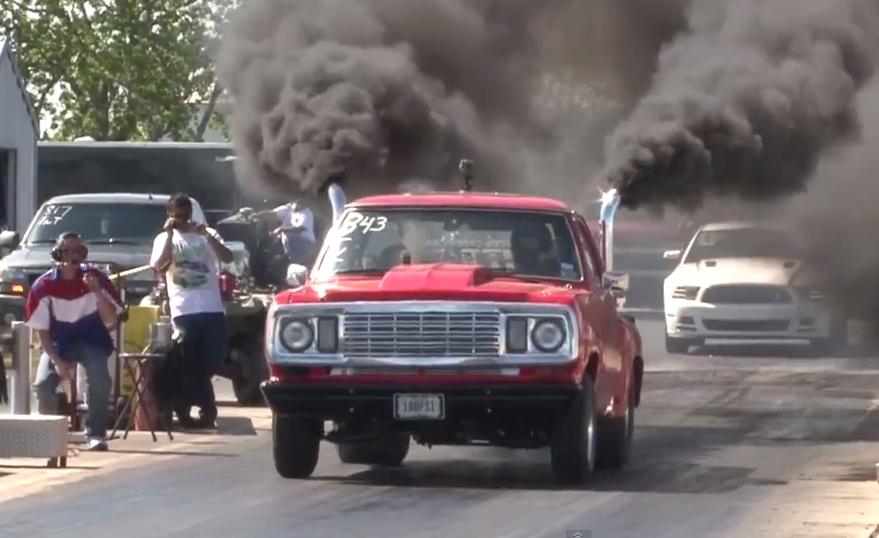 1000hp Dodge Truck Lil Red Gets A Boost Crankandpiston Com