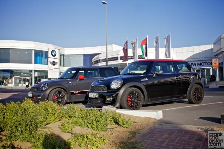 Mini John Cooper Works Jcw Vs Gp Dubai Uae Two Of A Kind