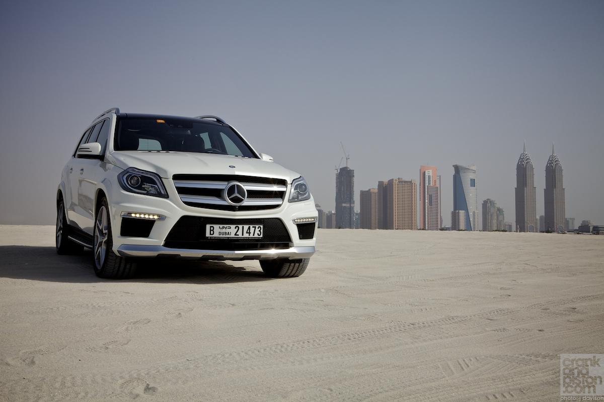 Mercedes Benz GL 500. REVIEW. Dubai, UAE. Home From Home    Crankandpiston.com
