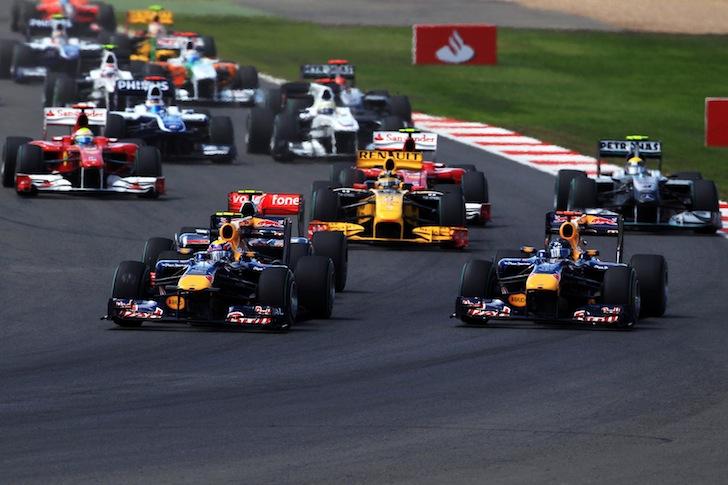 F1 British Grand Prix - Race