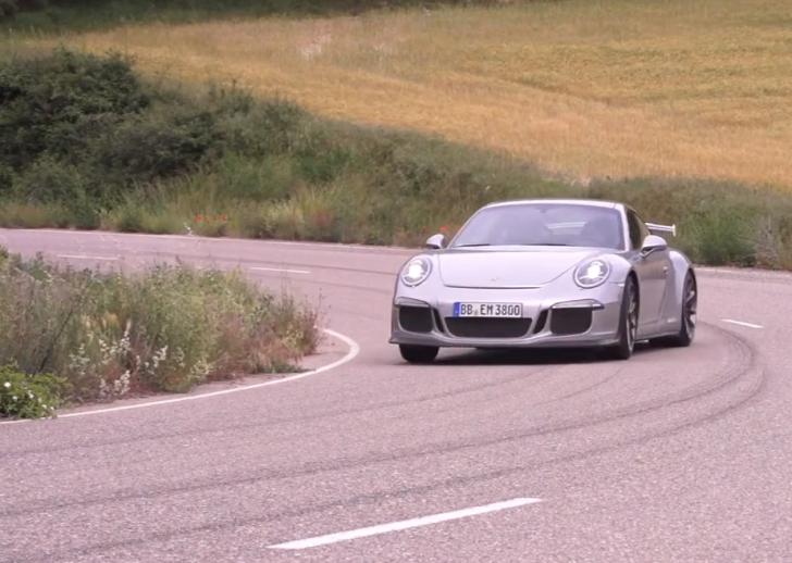 Chris Harris Porsche 911 GT3