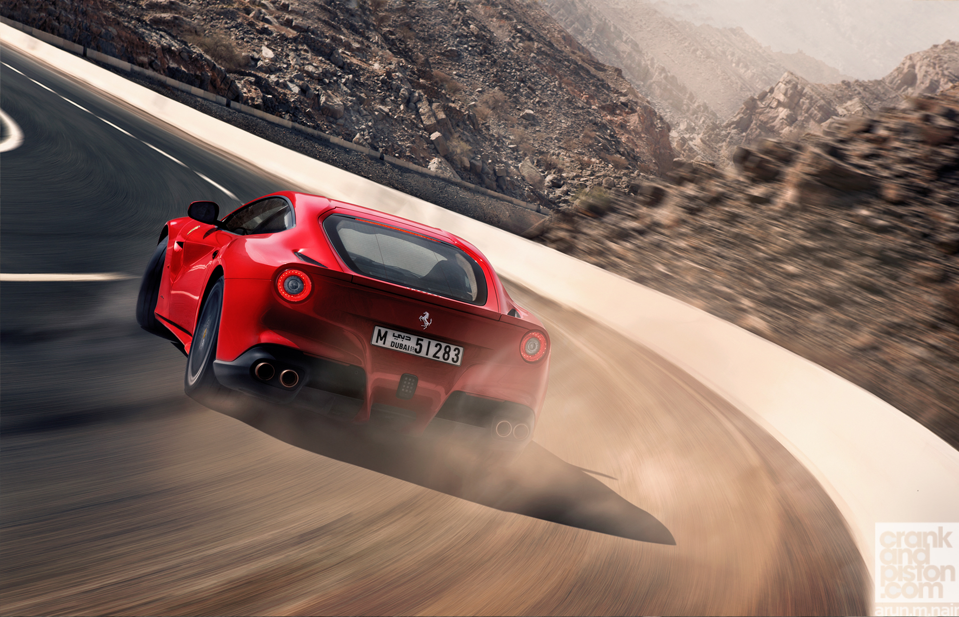 Ferrari f12berlinetta dubai uae for Home wallpaper uae