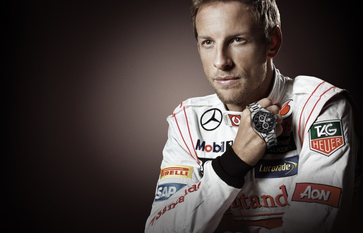 Jenson Button TAG Heuer