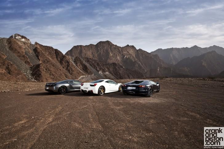 Lamborghini-Aventador-Ferrari458-Italia-McLAren-MP4-12C-Wallpapers-002