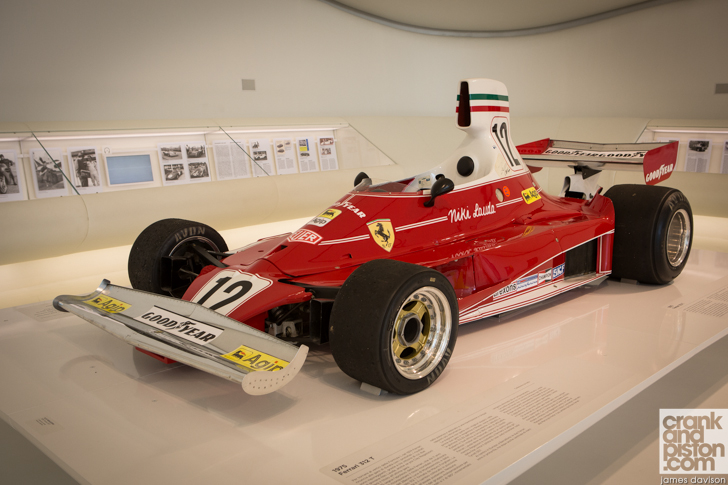 enzo ferrari museum f1 single seaters modena italy. Black Bedroom Furniture Sets. Home Design Ideas