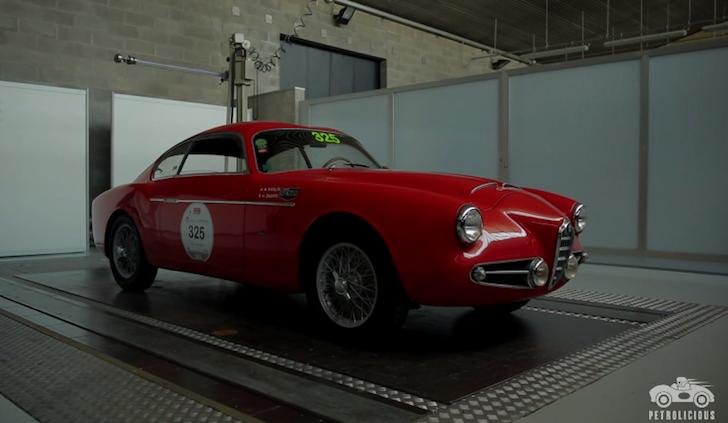 Alfa Romeo 1900 SSZ Zagato