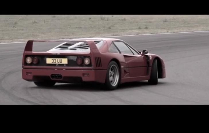 Ferrari F40 and a Ferrari F50. CHRIS HARRIS