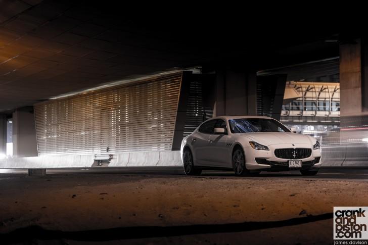 Maserati Quattroporte V8