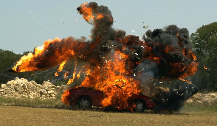 Blowing Up A Car In Slow Motion The Slow Mo Guys