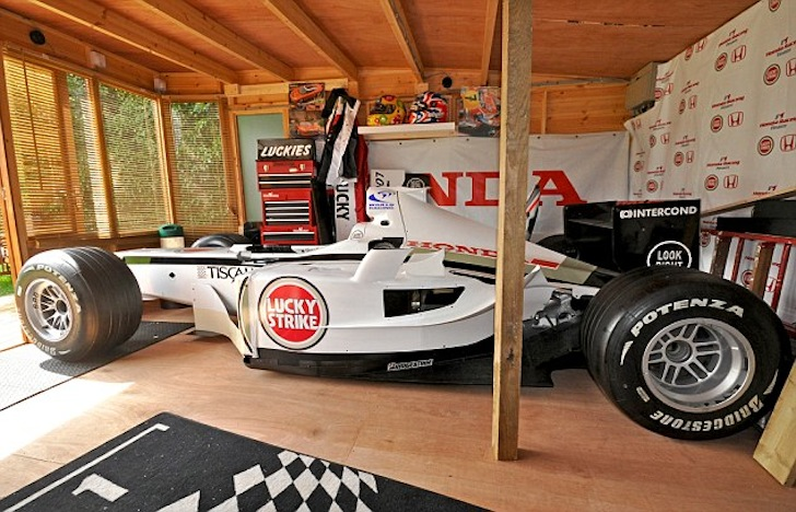 Full Size Formula 1 Car Replica In Brighton