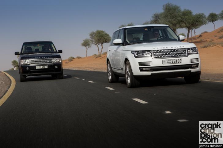 Range Rover vs Range Rover. Old vs New - crankandpiston.com
