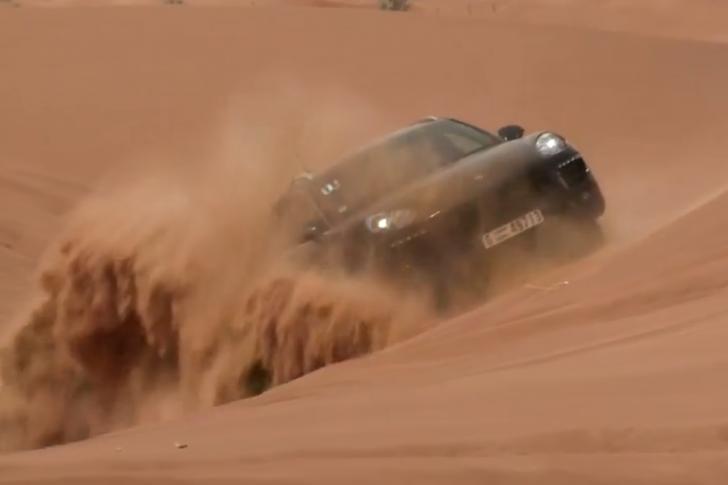 Porsche Macan in Dubai