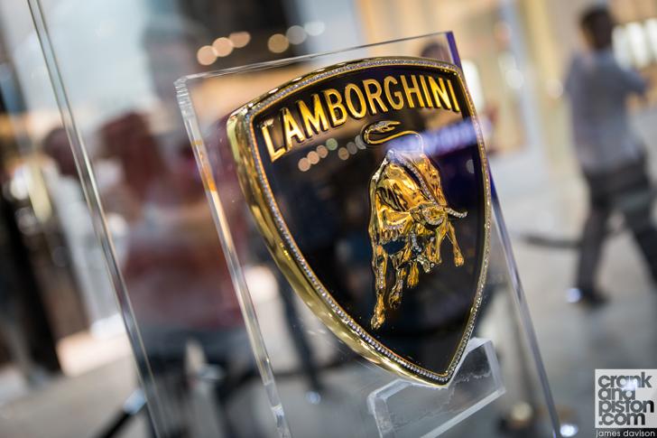 Gold Lamborghini