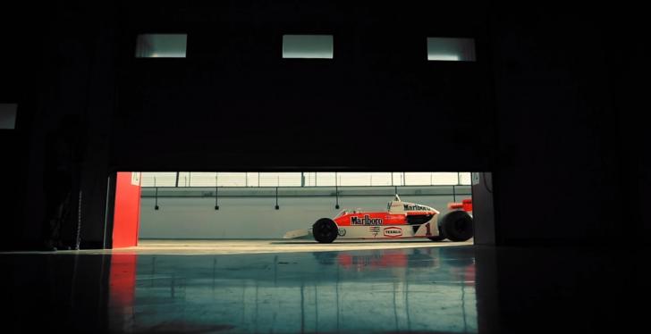 James Hunt McLaren M26