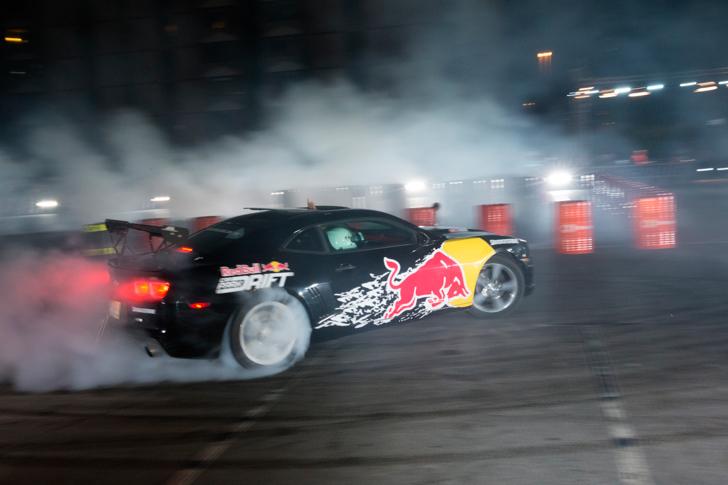 Red Bull Car Park Drift  Dubai