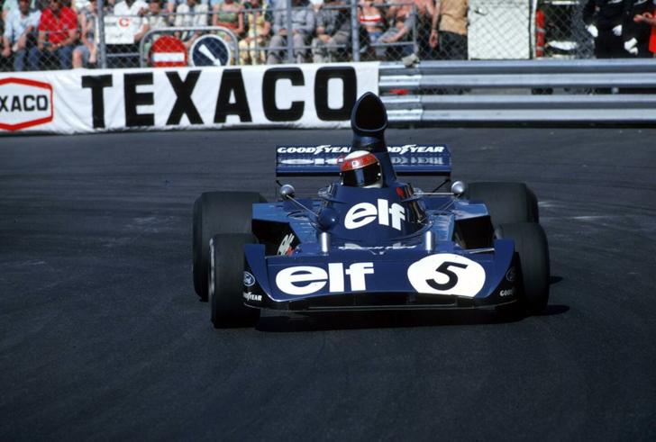 Winner Jackie Stewart(GBR) Tyrrell 006 Monaco GP, 3 June 1973