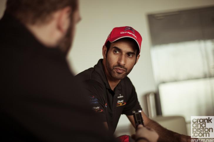 Sheikh-Khalid-Al-Qassimi-Abu-Dhabi-Racing-WRC-Citroen-DS3-Yas-Marina-Circuit-12