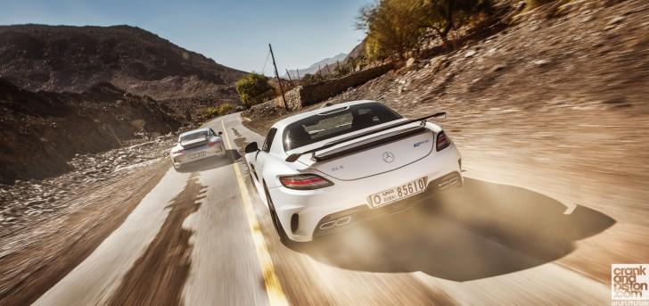 Sls amg Black Series v-s Porsche 911 GT3 (Arun.m.nair) wallpaper-3