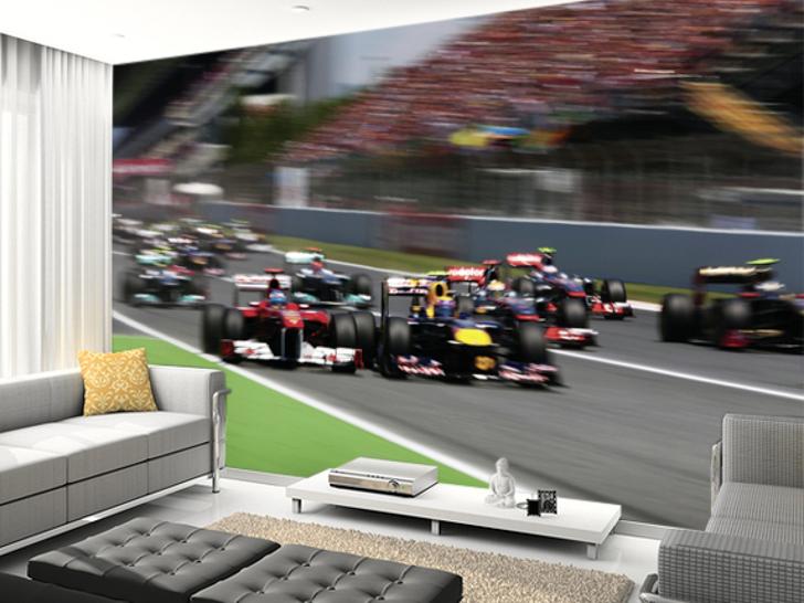 Formula 1 Darren Heath Wall Murals Crankandpiston Com