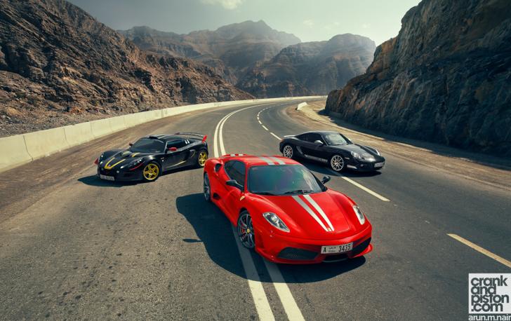Ferrari-F430-Scuderia-Porsche-Cayman-R-Lotus-Exige-Cup-260-S-25
