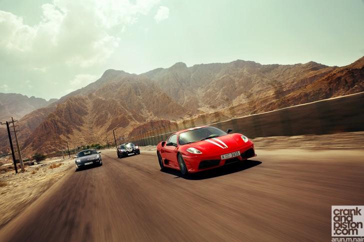 Ferrari-F430-Scuderia-Porsche-Cayman-R-Lotus-Exige-Cup-260-Wallpaper-02