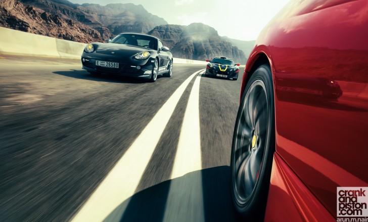 Ferrari-F430-Scuderia-Porsche-Cayman-R-Lotus-Exige-Cup-260-Wallpaper-04