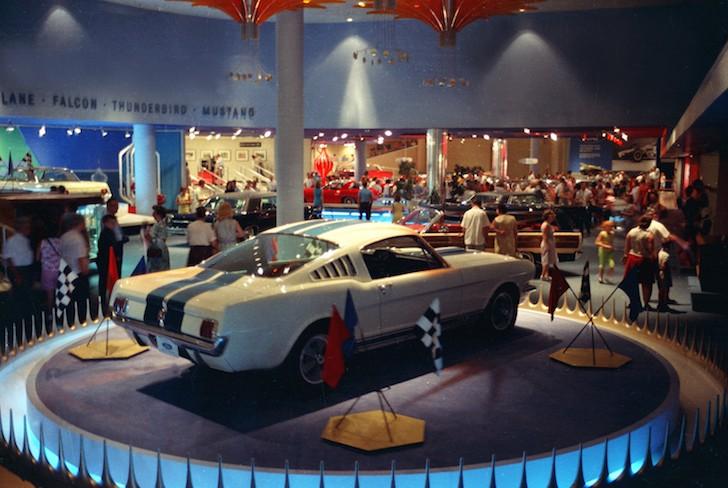 1964 World's Fair Exhibit 1965 Shelby GT350