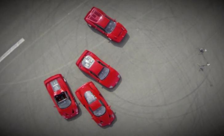Ferrari Enzo Vs F40 Vs F50 Vs 288 GTO