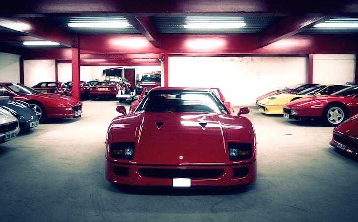 Ferrari F40. Italia Autosport