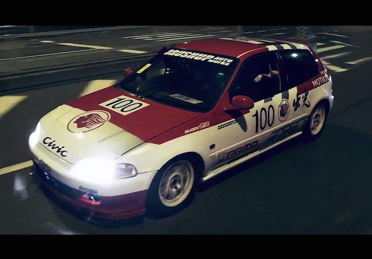 The Kanjozoku. Osaka's Infamous Street Racers