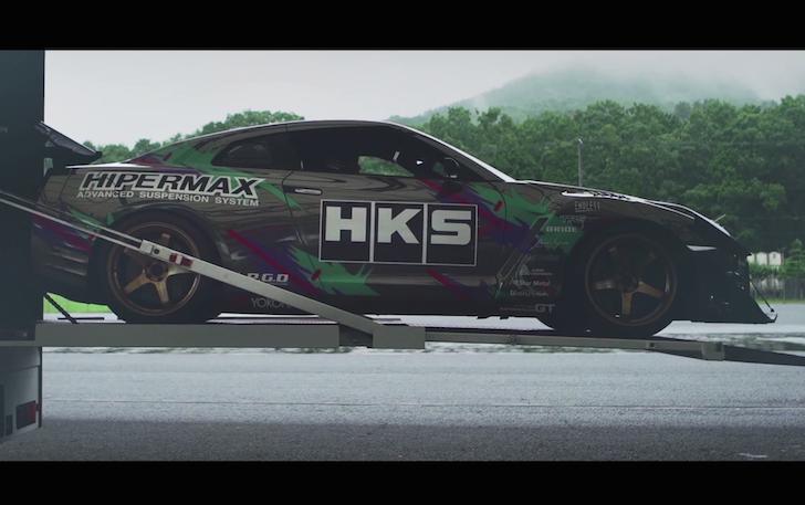 HKS R35 GT-R WTAC