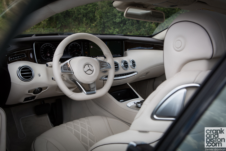 Mercedes-Benz S-Class Coupe and S63 Coupe