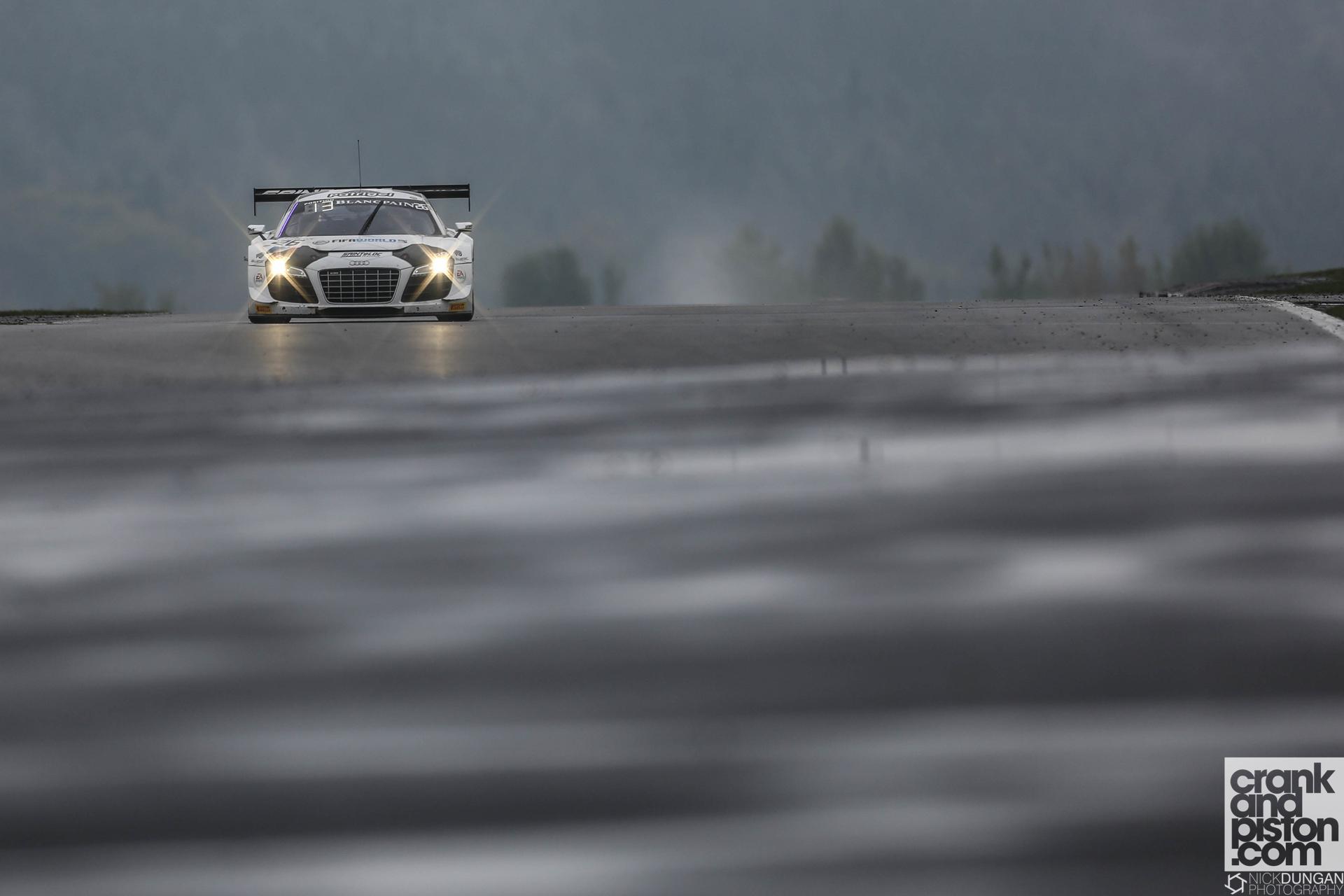 Edward Sandstrˆm, Stephane Ortelli, Gregory Guilvert Sainteloc Racing Audi R8 LMS Ultra - Blancpain i-Racing N¸rburgring 1000 at N¸rburgring -  - Germany