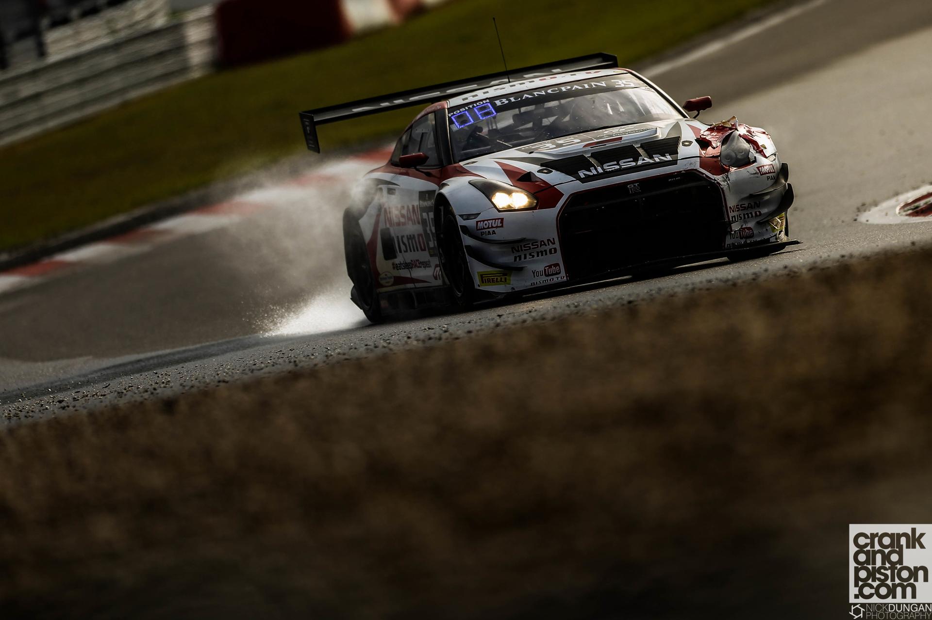 Florian Strauss, Nick McMillen, Alex Buncombe Nissan GT Academy Team RJN Nissan GT-R Nismo GT3 - Blancpain i-Racing N¸rburgring 1000 at N¸rburgring -  - Germany