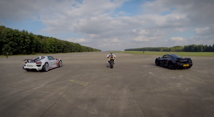 Video Porsche Vs Mclaren Vs Ducati Crankandpiston Com